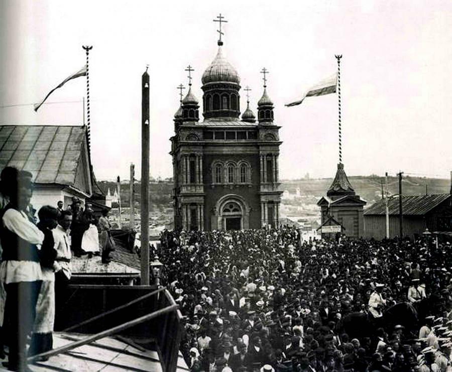 нижегородская ярмарка 19 век