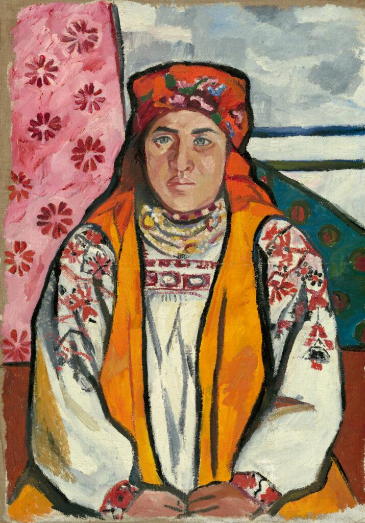 Портрет тульской крестьянки, 1910 г.,