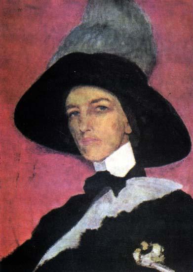 Елизавета Кругликова. Автопортрет, 1910.