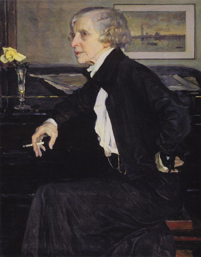 Нестеров М. Портрет Кругликовой Е. С., 1938 г.