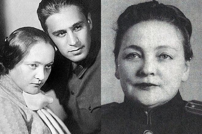 Павел Судоплатов с супругой