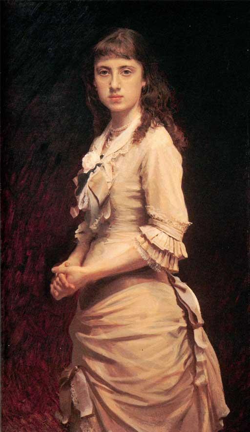 Крамской И. Н. Портрет дочери.