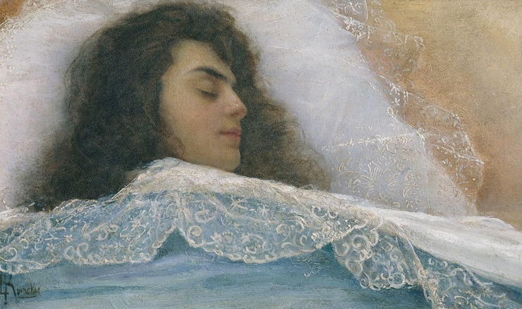 Спящая, 1880-1890 гг.