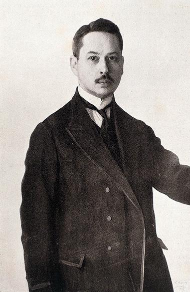Константин Сомов, Автопортрет 1909 год