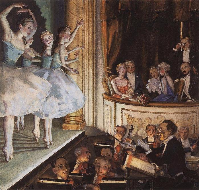 Русский балет, 1930