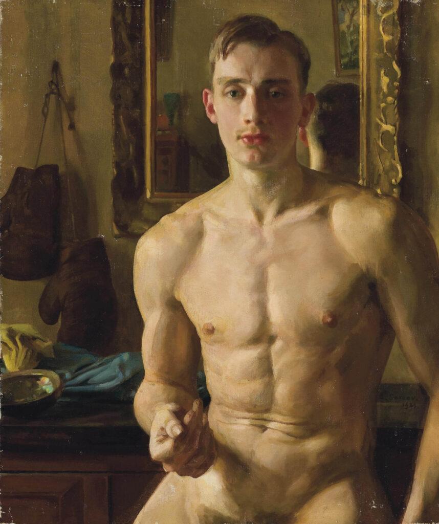 Боксер Борис Снежковский - 1933