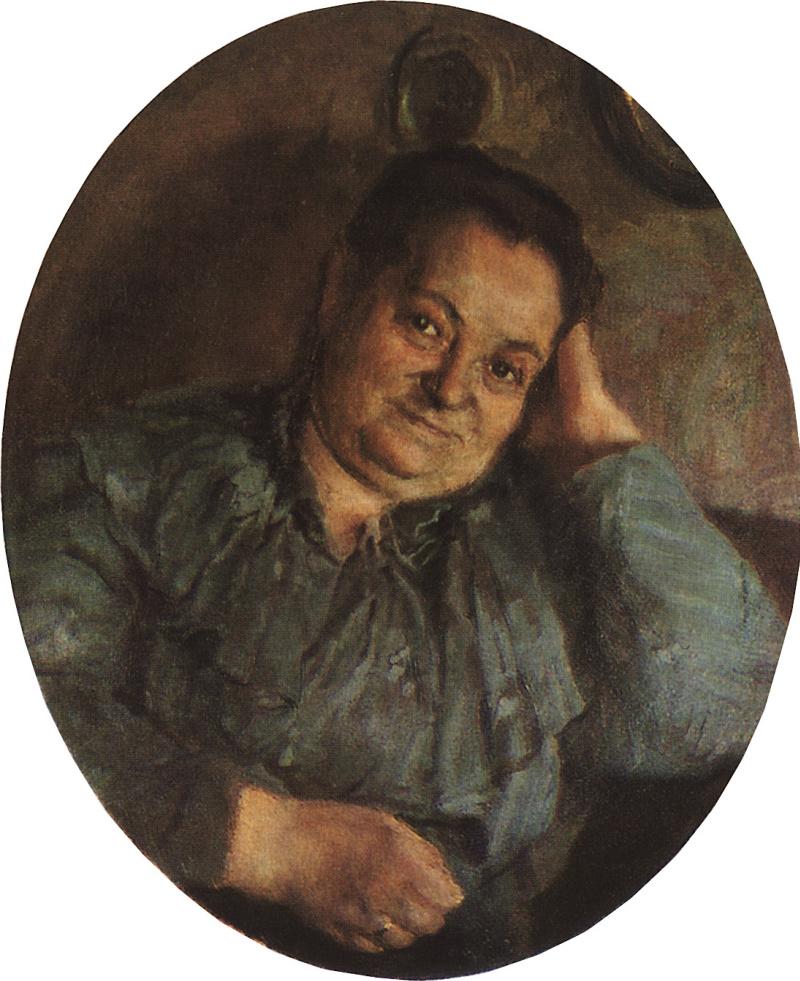 Портрет матери художника, Надежды Константиновны Сомовой