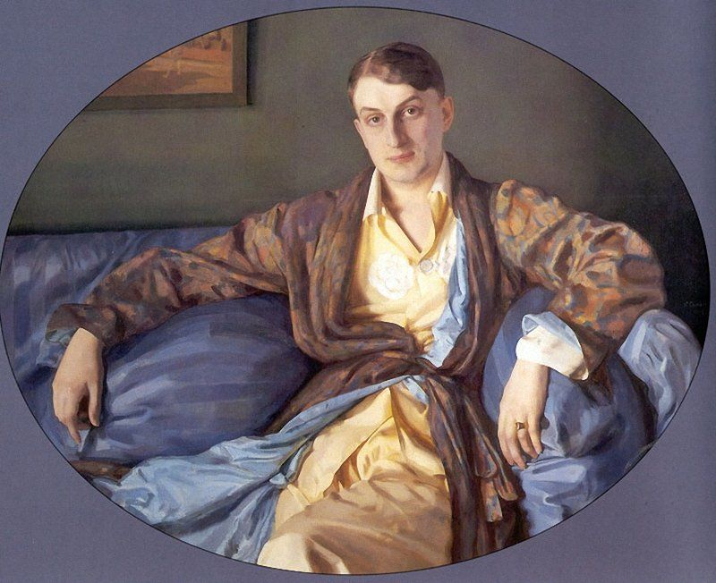 «Портрет М.Г. Лукьянова», 1918 год