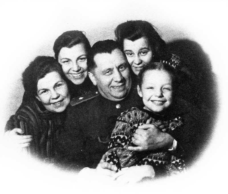 Семья Наума Эйтингона