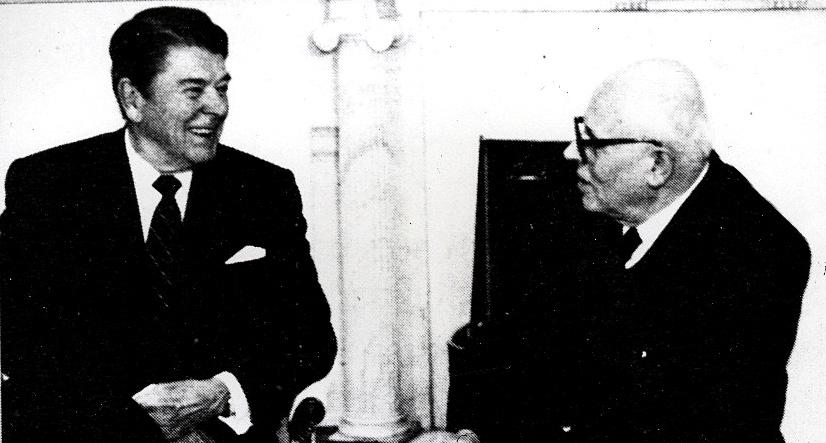 Сахаров и Р. Рейган