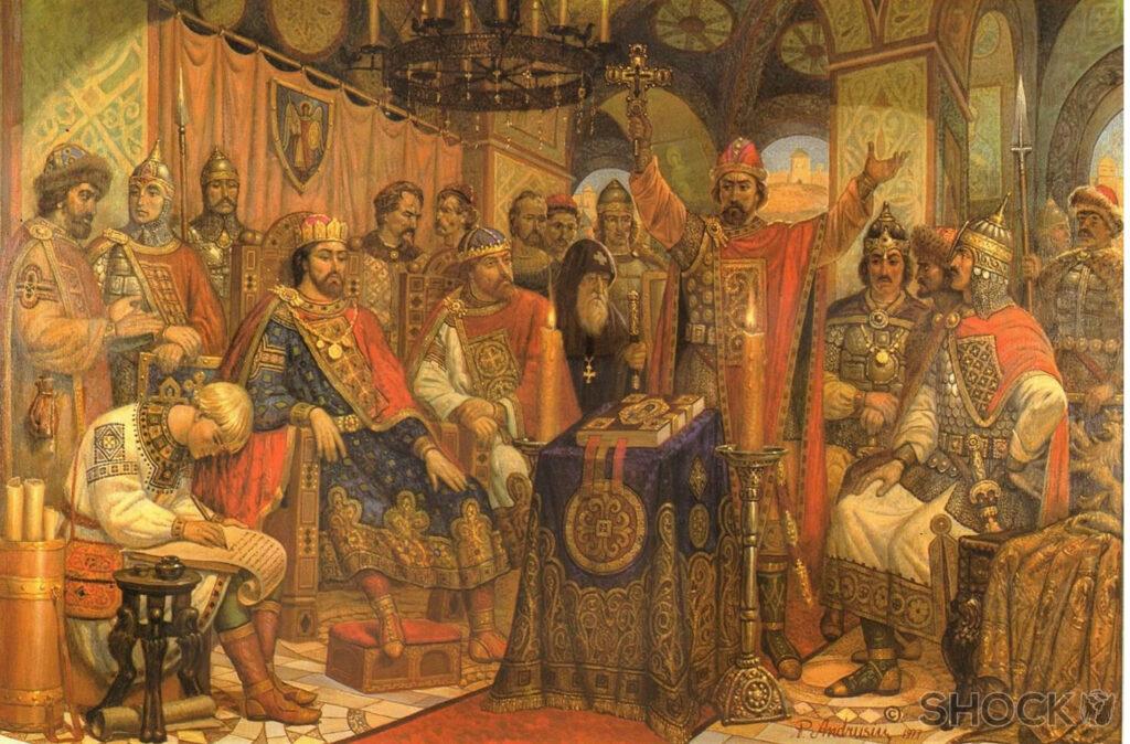 князья в Любече
