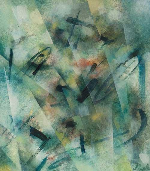 «Лучизм. Абстрактная композиция» 1910-е