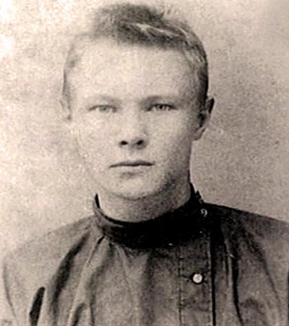 Михаил Ларионов в юности