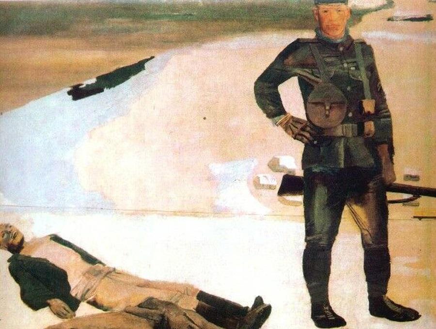 Александр Дейнека, «Наемник интервентов», 1931