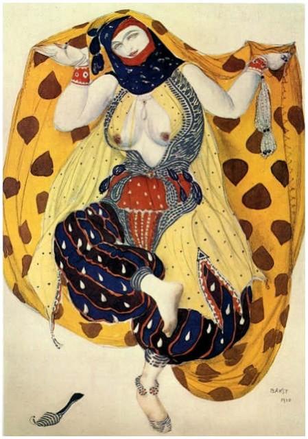 Леон Бакст (1866-1924), Гродно-Петербург-Париж