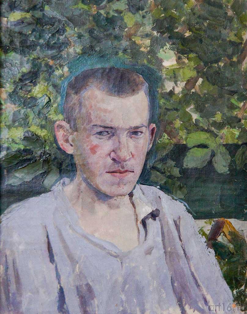 Борисов-Мусатов В. Э., Автопортрет, до 1905 г.