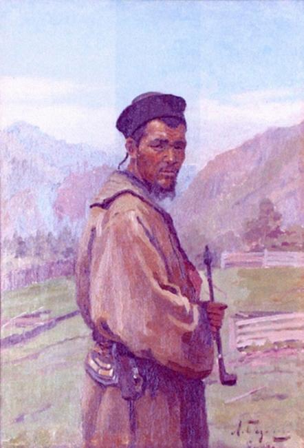 Базанова Л. П., Алтаец. 1908.