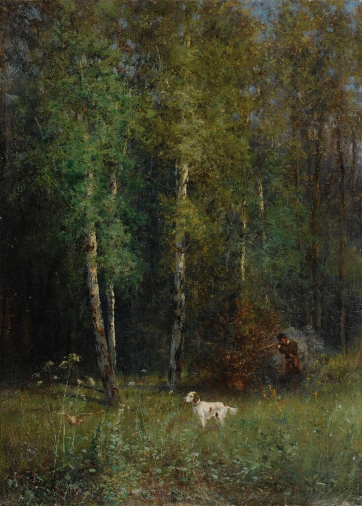 Охота в лесу 1879, Похитонов