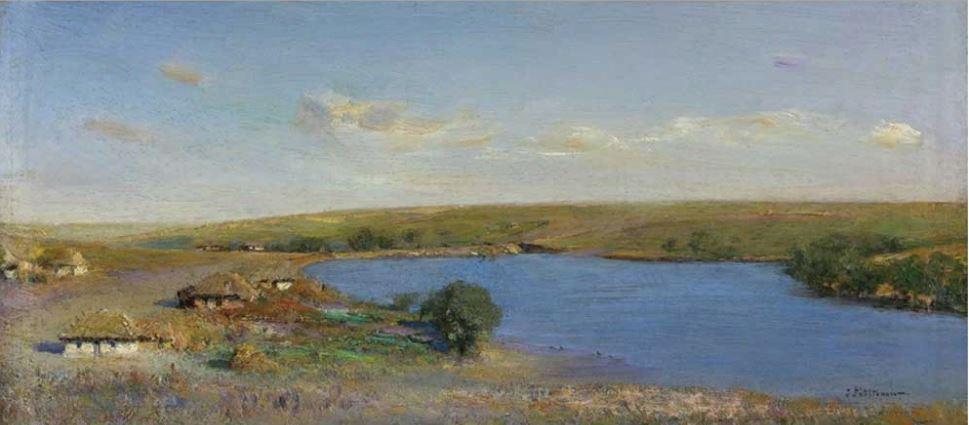 Пруд в Матреновке, 1879, Похитонов