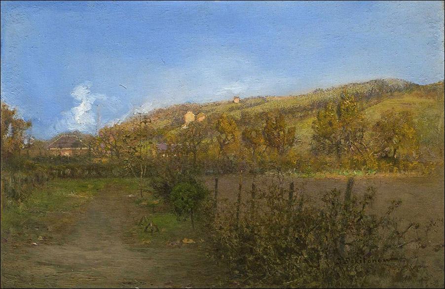 Пригород Льежа. Кон. 1890-е, Похитонов И.
