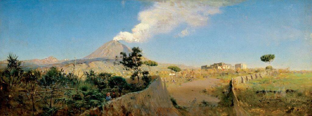 Везувий, 1891, Похитонов И.