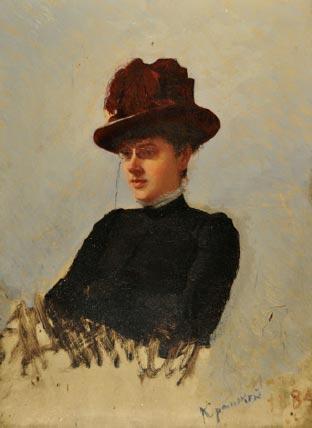 Матильда Похитонова, Крамской И. Н., 1884