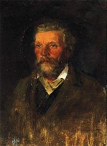 Портрет П. Д. Похитонова, отца художника