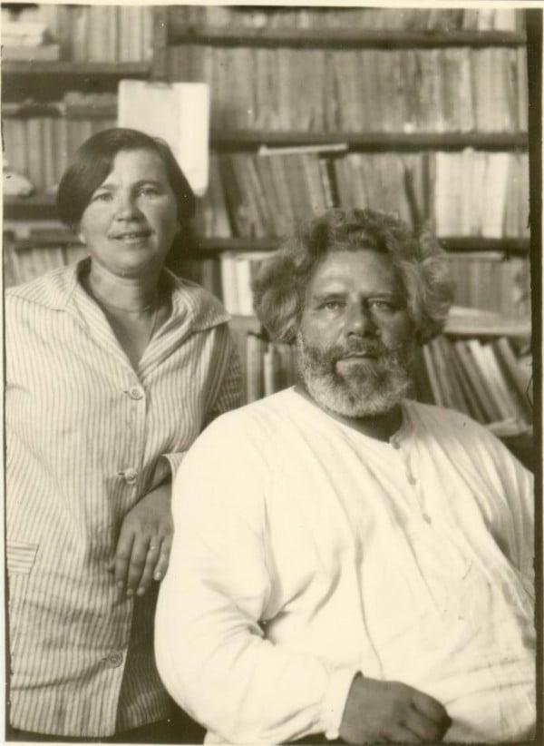 Волошин Макс с супругой Марией Степановной