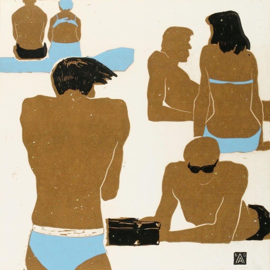 Ланин А. В. (1925-2006) «Пляж»