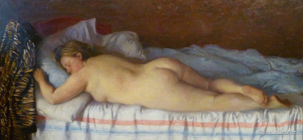 Коркодым В. Н. (1940) «Спящая» 1990