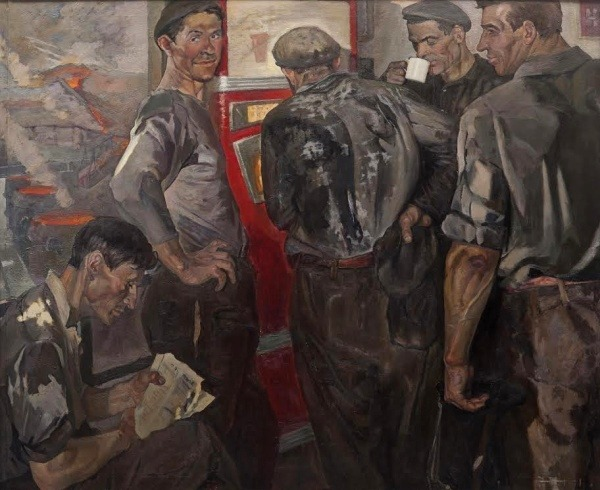 Отченашко Г. Ф. (1934) «После плавки» 1967