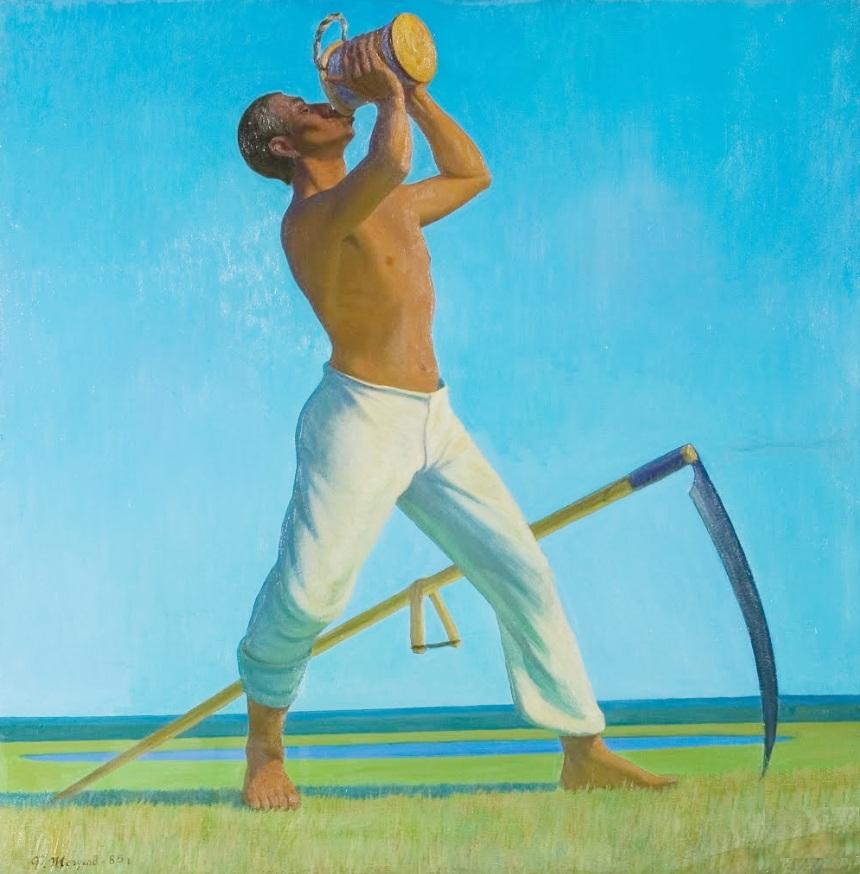 Жегусов Ф. С. (1948) «Косарь» 1985