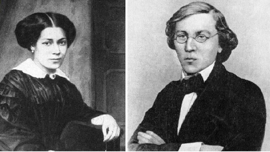 Ольга и Николай Чернышевские