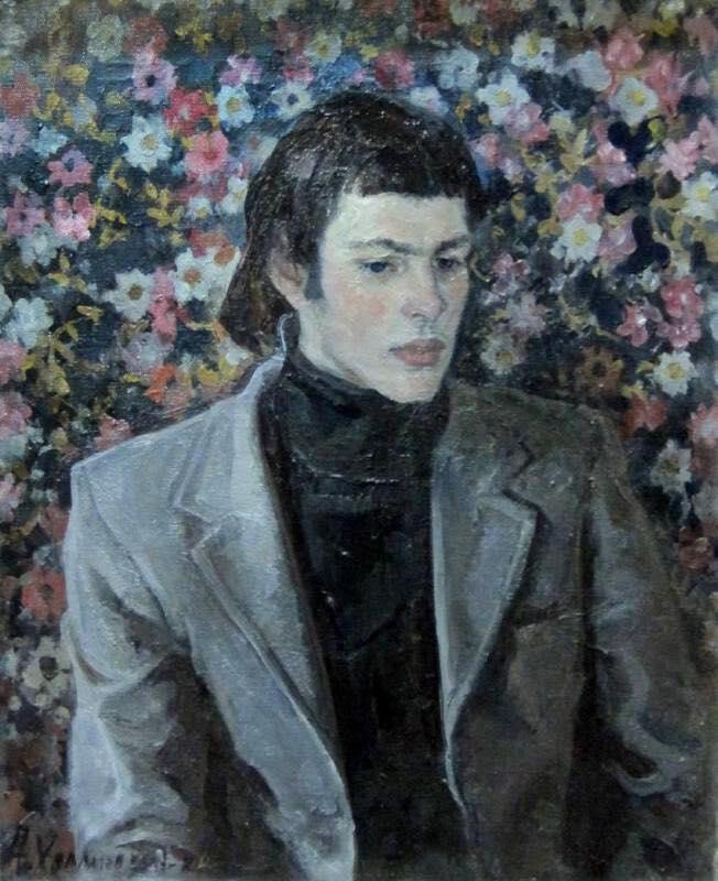 Холмогоров А. П., «Портрет студента механического института», 1960 год
