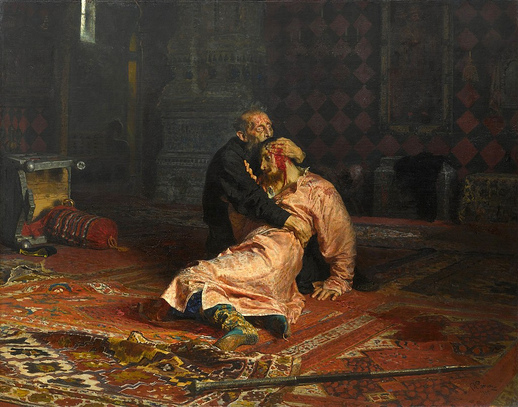 Картины русских художников по годам